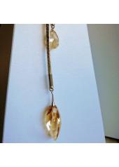 Naszyjnik z Kryształami Swarovski Arrow złoto
